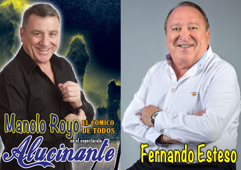 Manolo Royo y Fernando Esteso